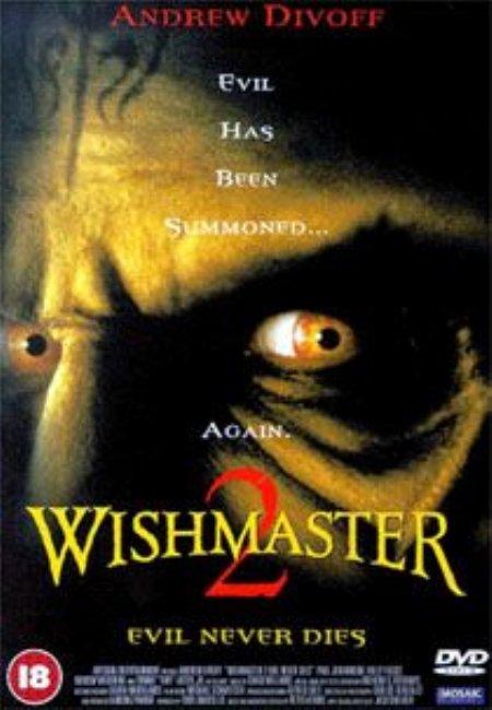 Foto Wishmaster 2 - Il male non muore mai  Film, Serial, Recensione, Cinema