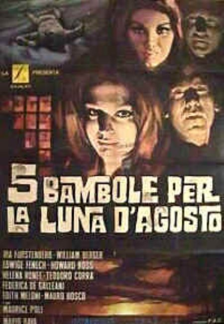 Foto 5 bambole per la luna d'agosto  Film, Serial, Recensione, Cinema