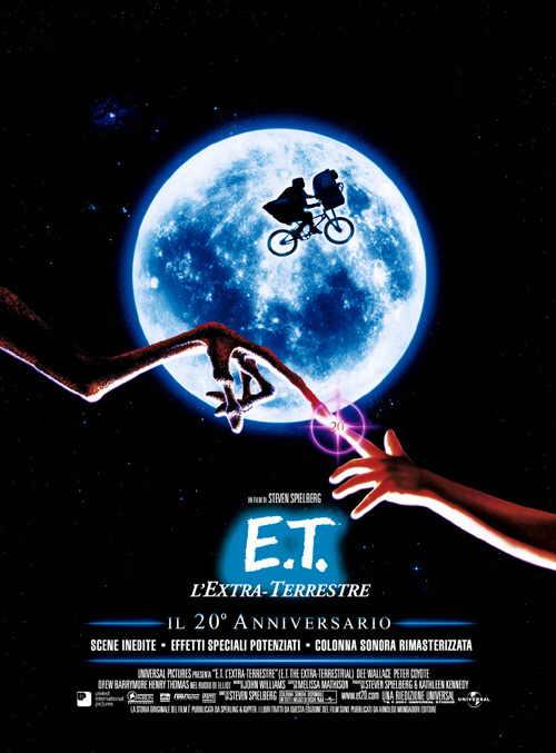 Foto E.T. L'extra-terrestre Film, Serial, Recensione, Cinema