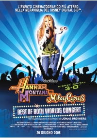 Foto Hannah Montana & Miley Cyrus: Best of Both Worlds Concert Tour Film, Serial, Recensione, Cinema
