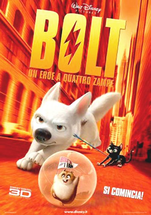 Foto Bolt - Un eroe a quattro zampe Film, Serial, Recensione, Cinema