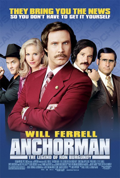 Foto Anchorman - La Leggenda di Ron Burgundy  Film, Serial, Recensione, Cinema