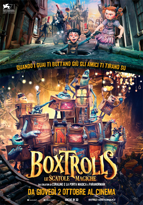 Foto Boxtrolls - Le scatole magiche Film, Serial, Recensione, Cinema