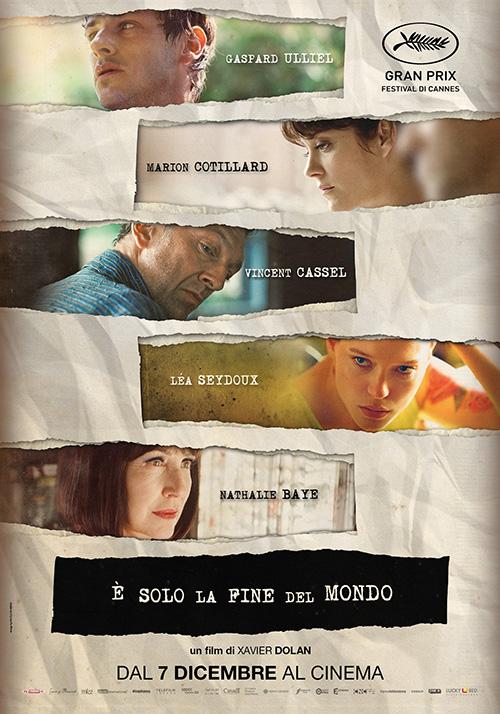 Foto E' solo la fine del mondo Film, Serial, Recensione, Cinema