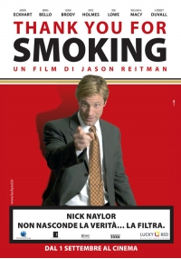 Foto Thank You for Smoking Film, Serial, Recensione, Cinema