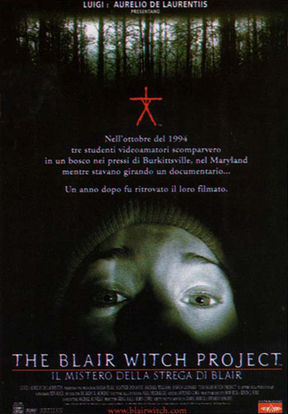 Foto Il mistero della strega di Blair - The blair witch project Film, Serial, Recensione, Cinema